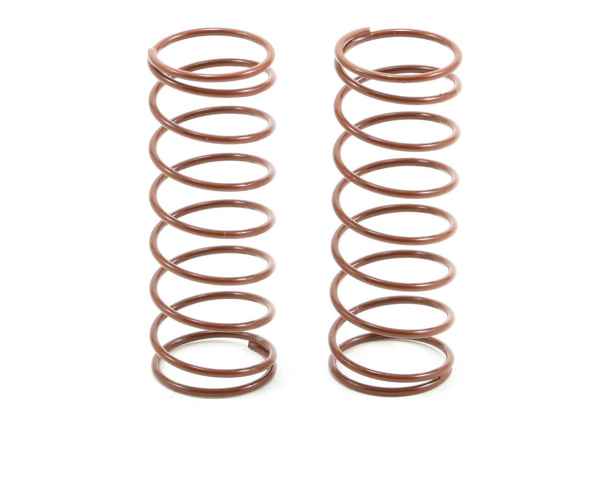 Team Associated RC10 Front Buggy Shock Spring Set (Brown - 2.80 lbs) (2)