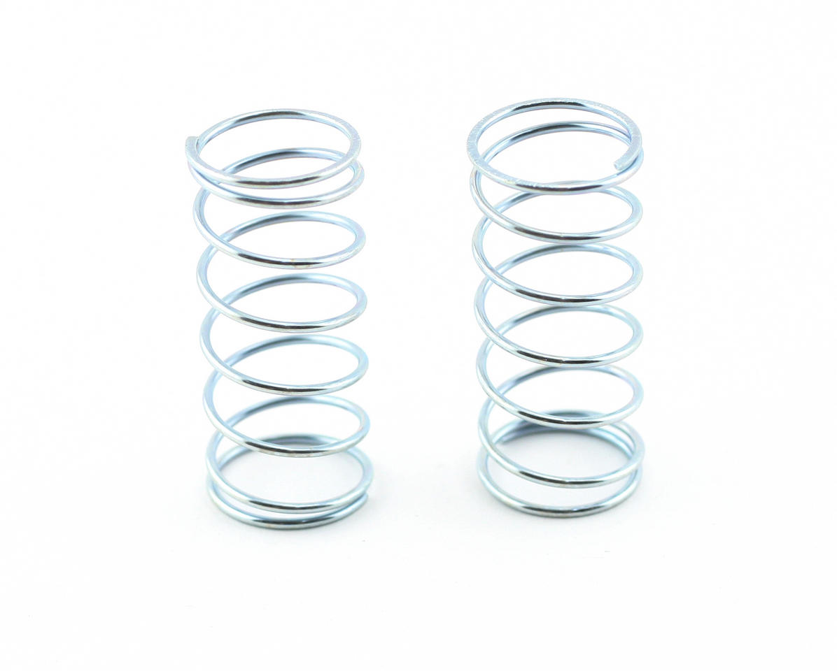 Team Associated Front Buggy Spring Set (Silver - 3.85 lbs) (2)