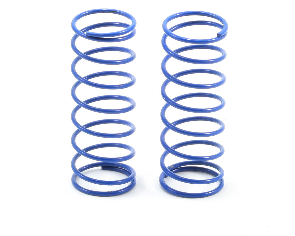 Front Buggy Shock Spring Set (Blue - 4.20 lbs) (2) by Team Associated