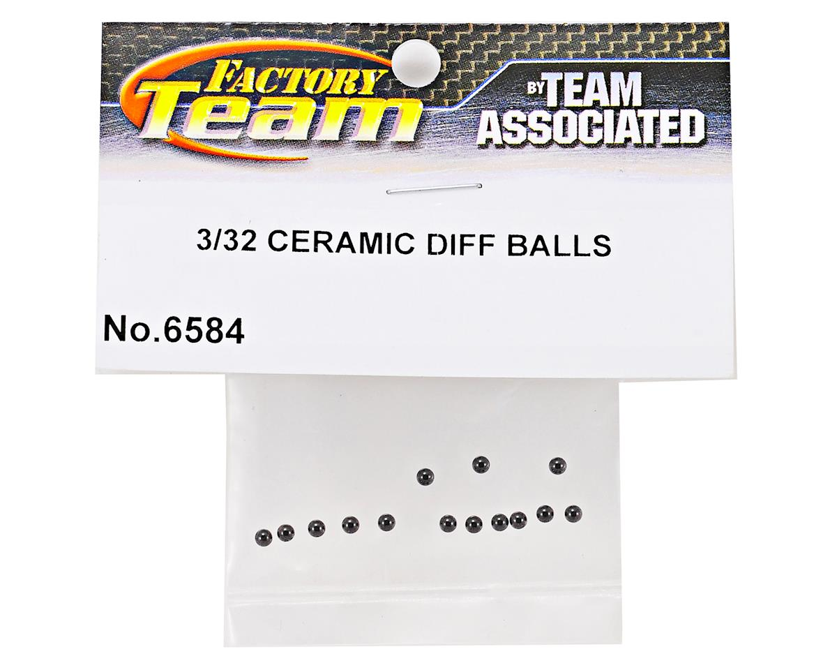 "Team Associated 3/32"" Ceramic Diff Balls (12)"