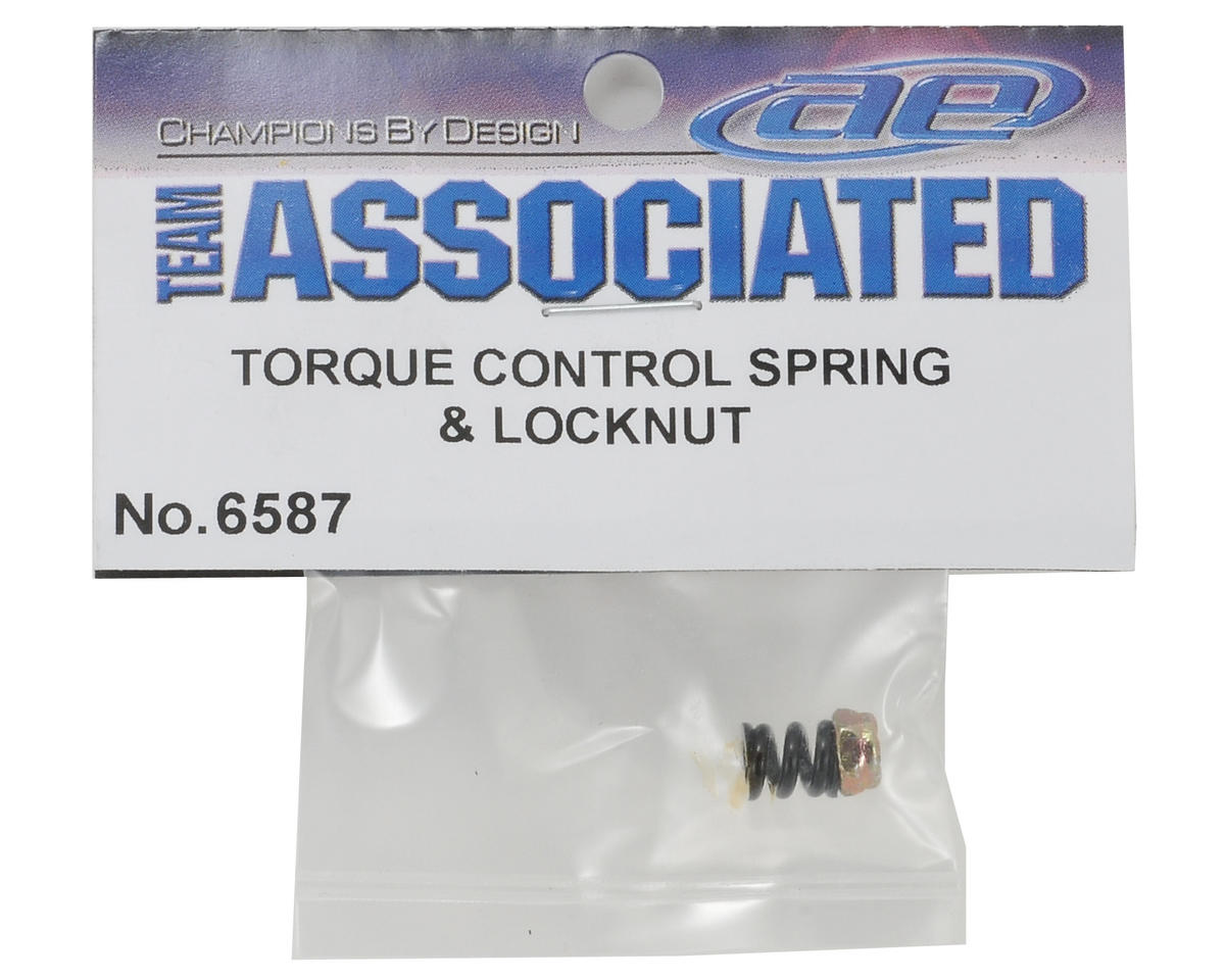 Team Associated Torque Control Slipper Spring & Locknut