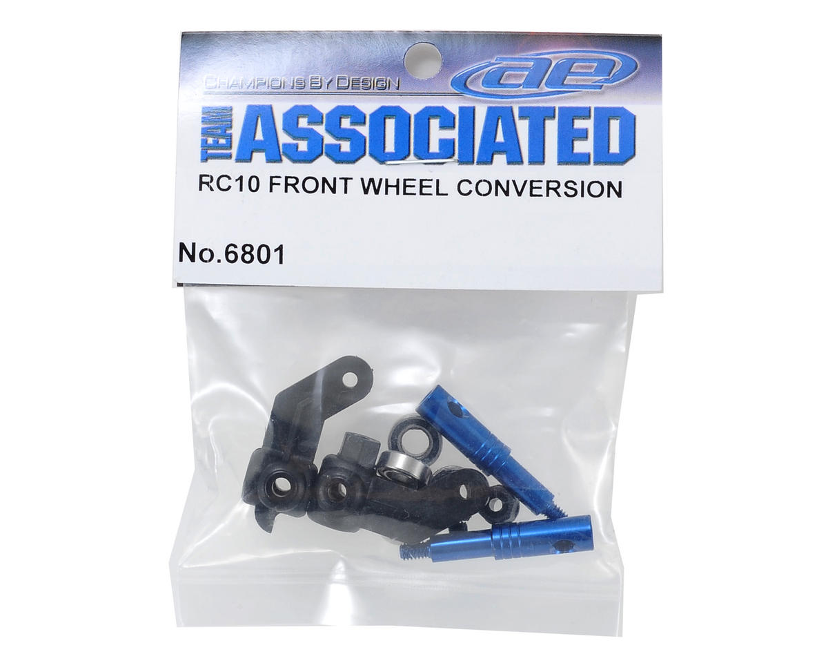 RC10 Front Wheel Conversion by Team Associated