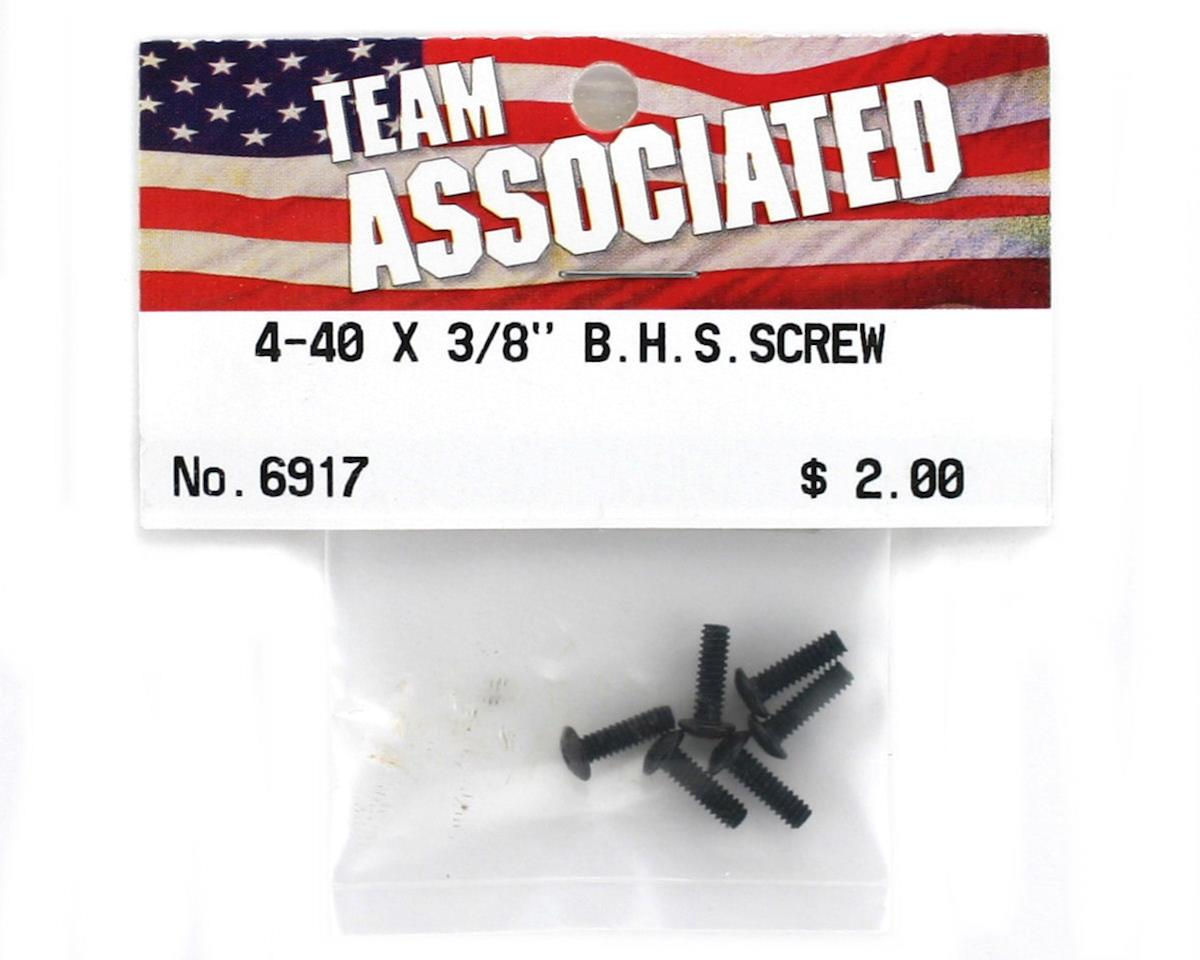 "Team Associated 4-40 x 3/8"" Button Head Screw (6)"