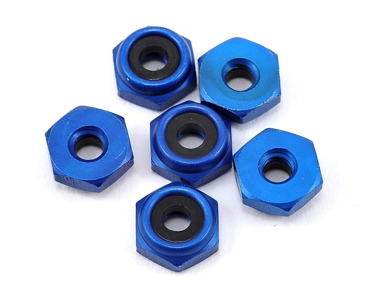 4-40 Aluminum Locknut (Blue Anodized) (6) by Team Associated