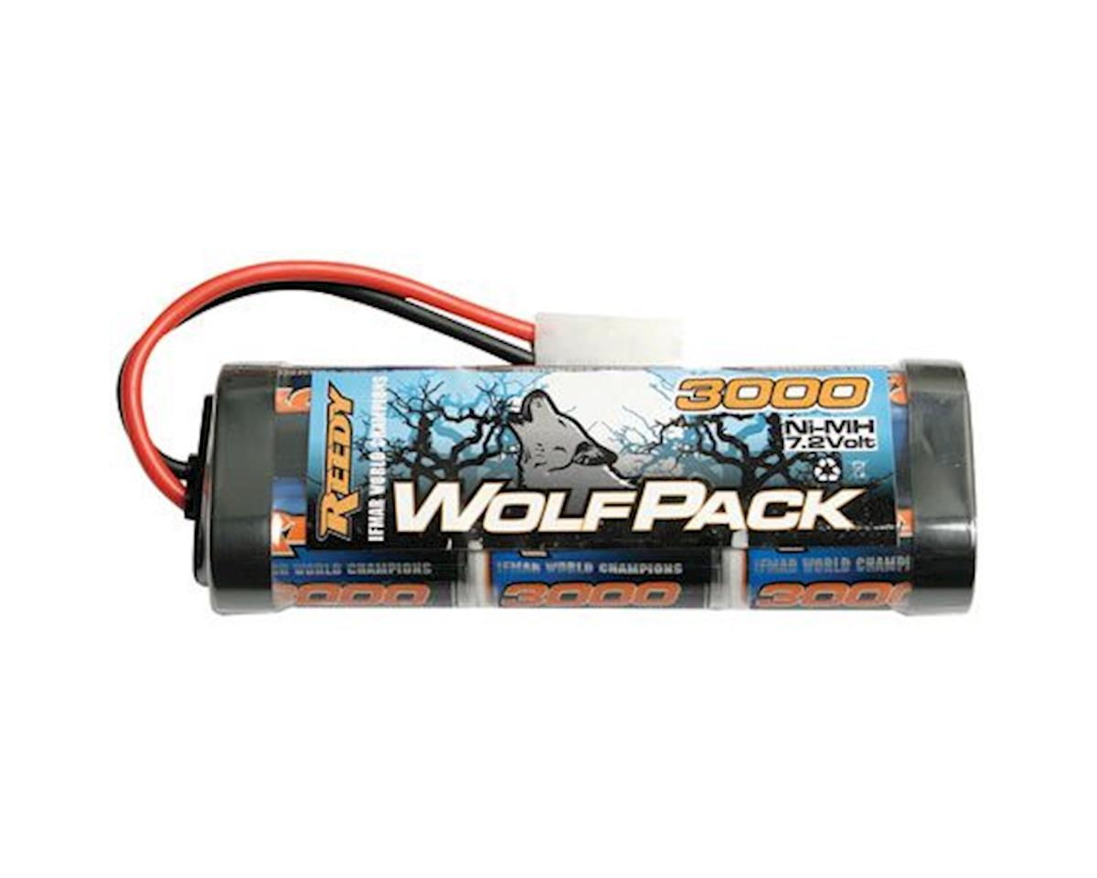 Wolfpack 3000mAh 7.2V NiMH Stick by Team Associated