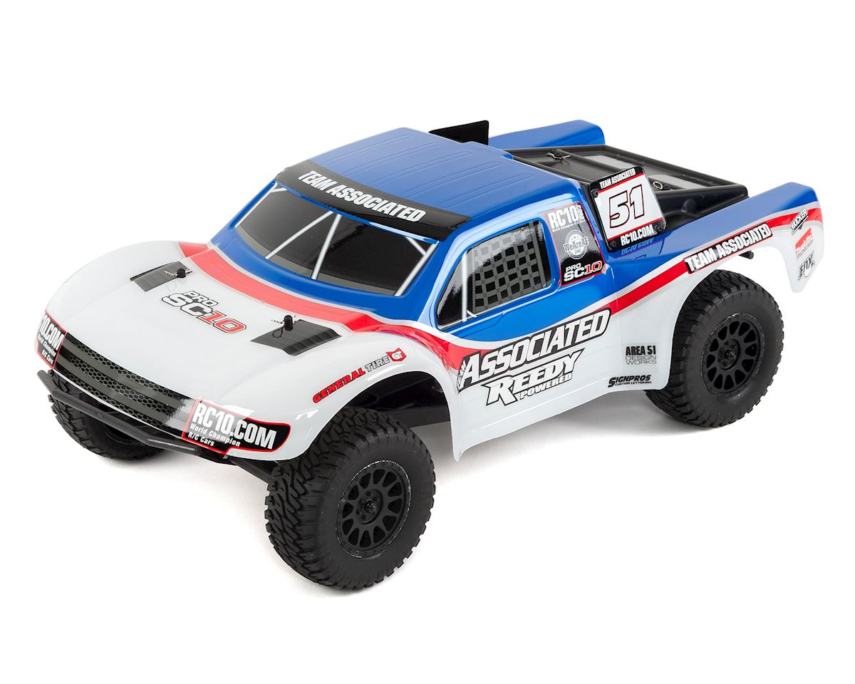 Team Associated ProSC10 1/10 RTR 2WD Short Course Truck Combo (AE Team)