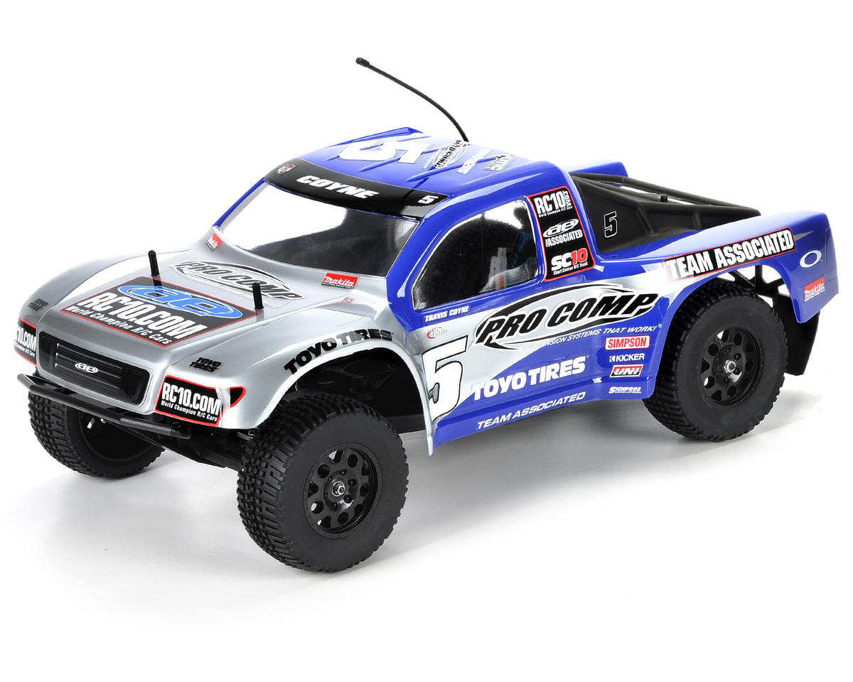 Team Associated SC10 RTR 1/10 Electric 2WD Short Course Truck (Pro Comp)