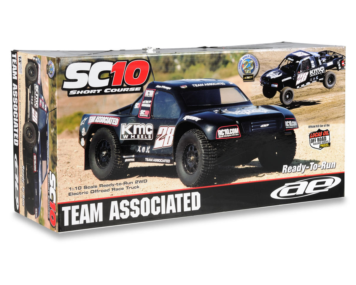 Team Associated SC10 RTR Electric 2WD Short Course Truck (KMC Wheels)