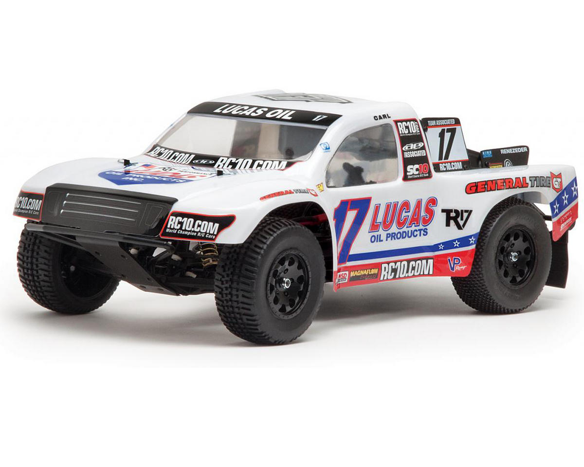 Team Associated SC10 RTR Brushless 2WD Short Course Truck (Lucas Oil)