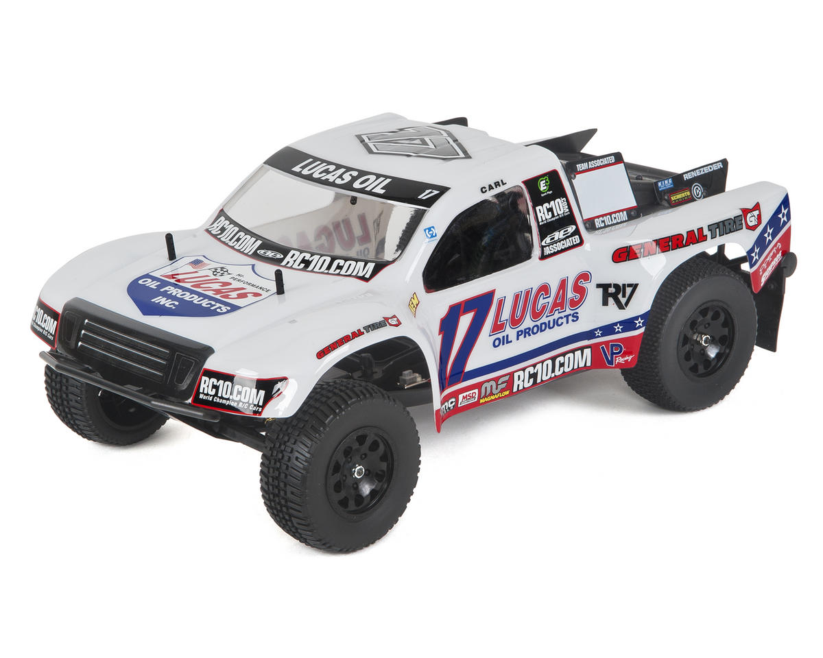 Team Associated SC10 RTR Brushless 2WD Short Course Truck Combo (Lucas Oil)