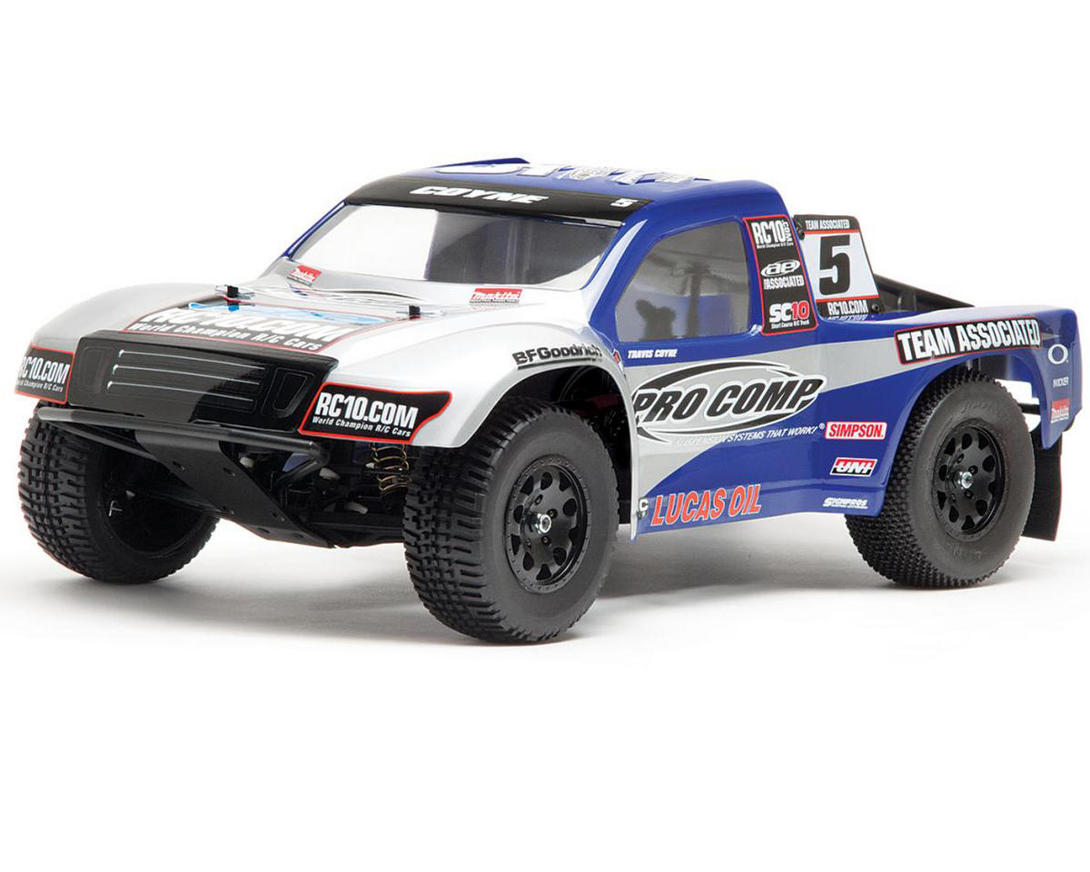 Team Associated SC10RS 1/10 Scale RTR Brushless Electric 2WD Short Course Truck