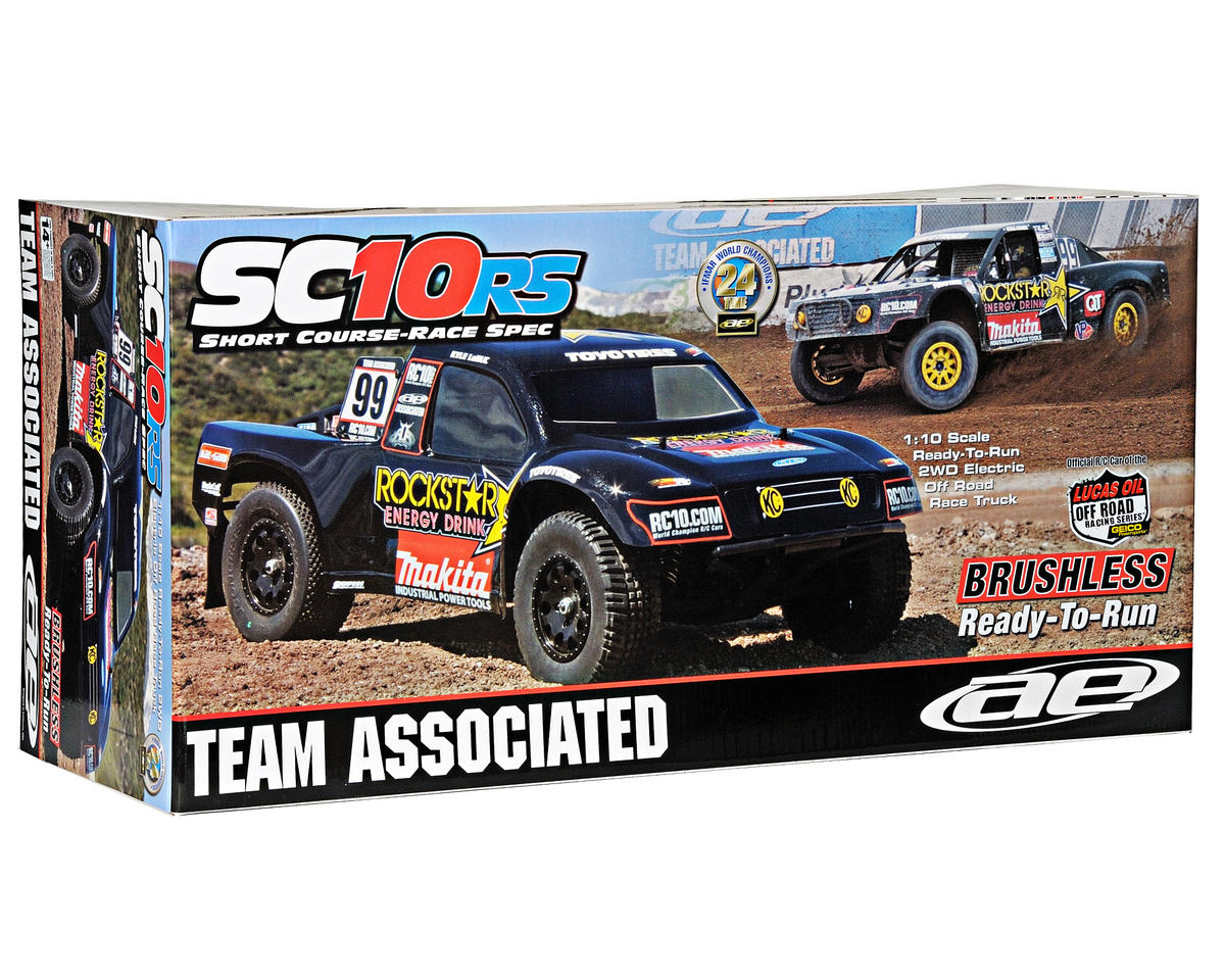 Team Associated SC10 1/10 RTR 2WD Short Course Truck (Rockstar-Makita)