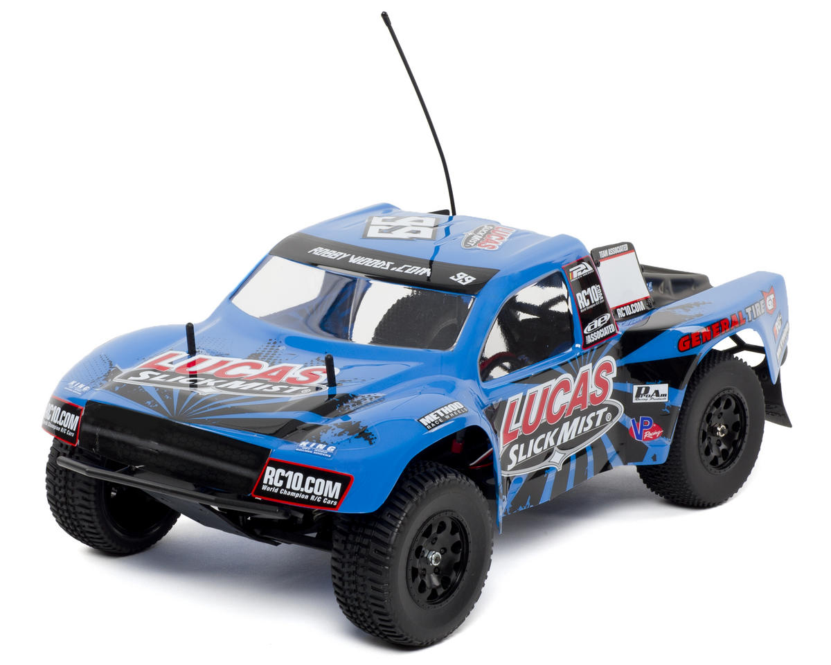 Team Associated SC10RS RTR Brushless 2WD Short Course Truck w/2.4GHz (Slick Mist