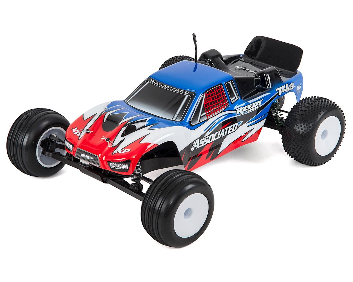 Team Associated RC10 T4.3 Brushless RTR 1/10 Stadium Truck Combo (Blue)