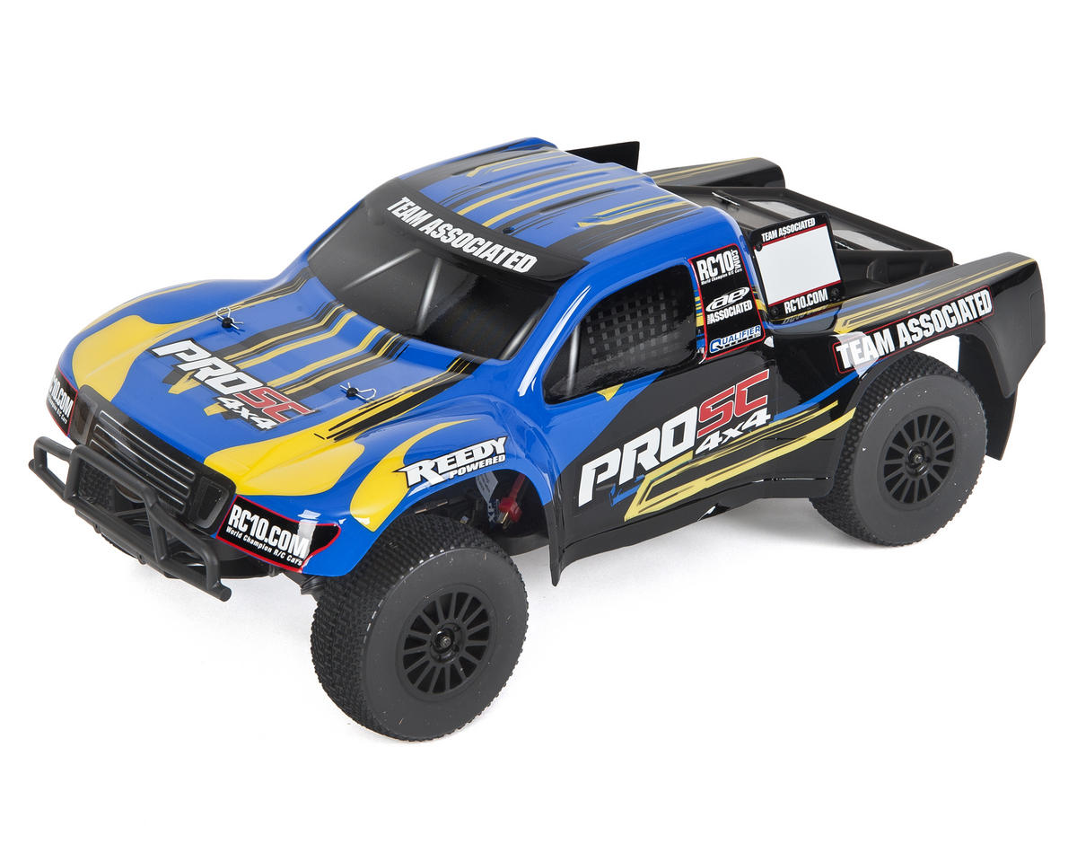 SCRATCH & DENT: Team Associated ProSC 4x4 1/10 Brushless Short Course Truck