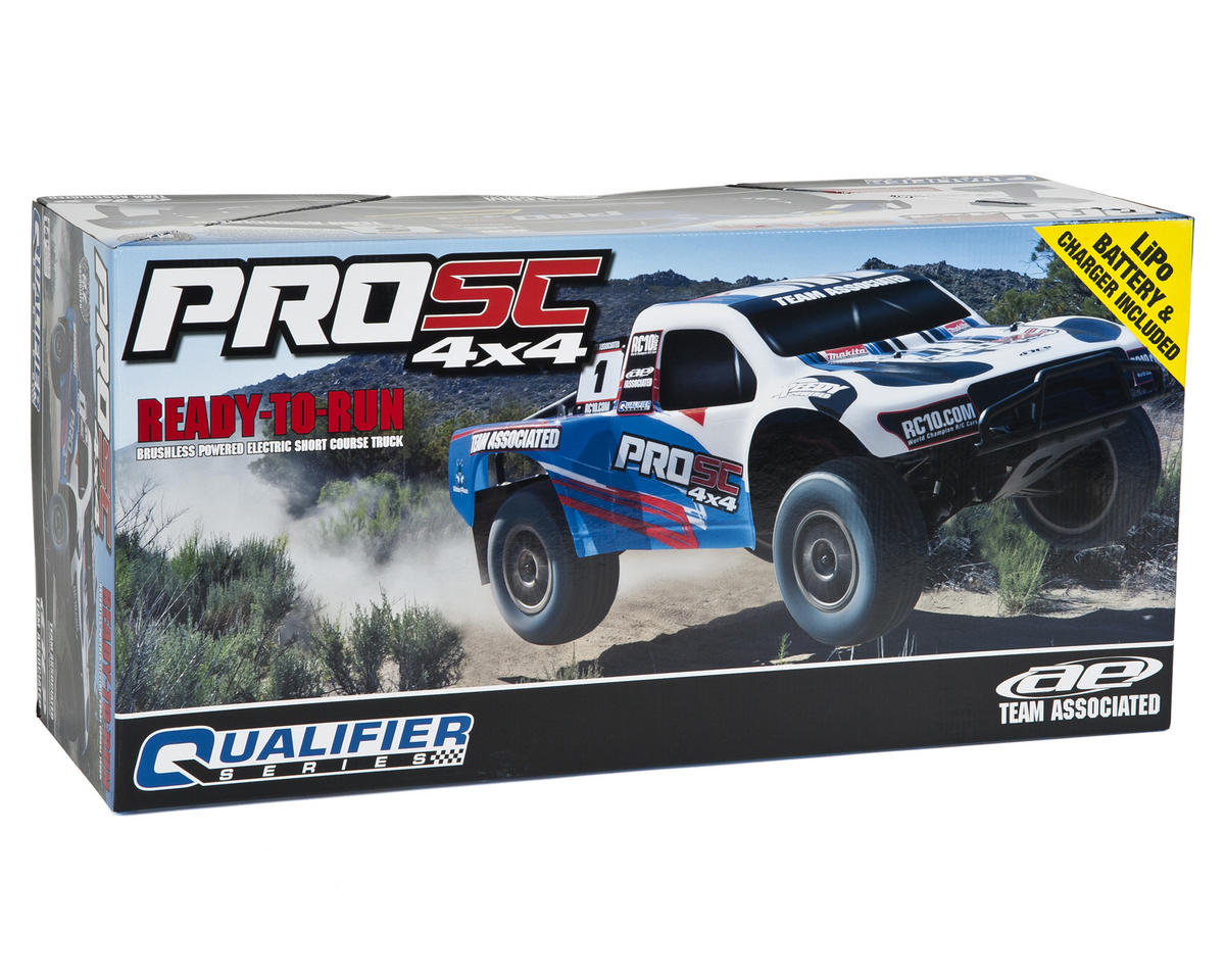 Team Associated ProSC 4x4 1/10 Brushless Short Course Truck