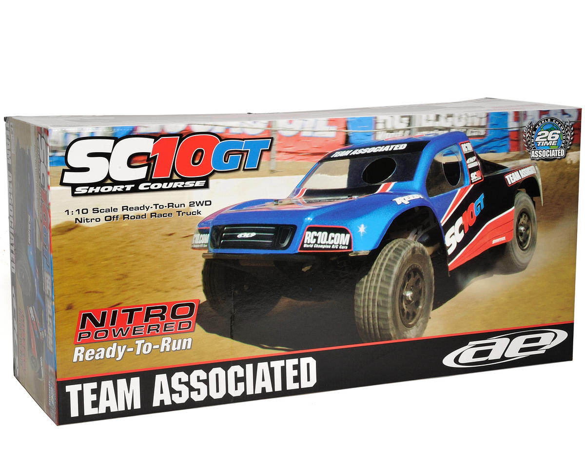 Team Associated SC10GT 1/10 Scale RTR Nitro Short Course Race Truck