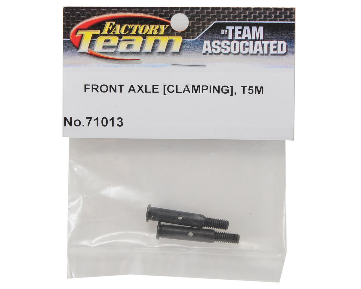 Team Associated Clamping Front Axle Set (2)