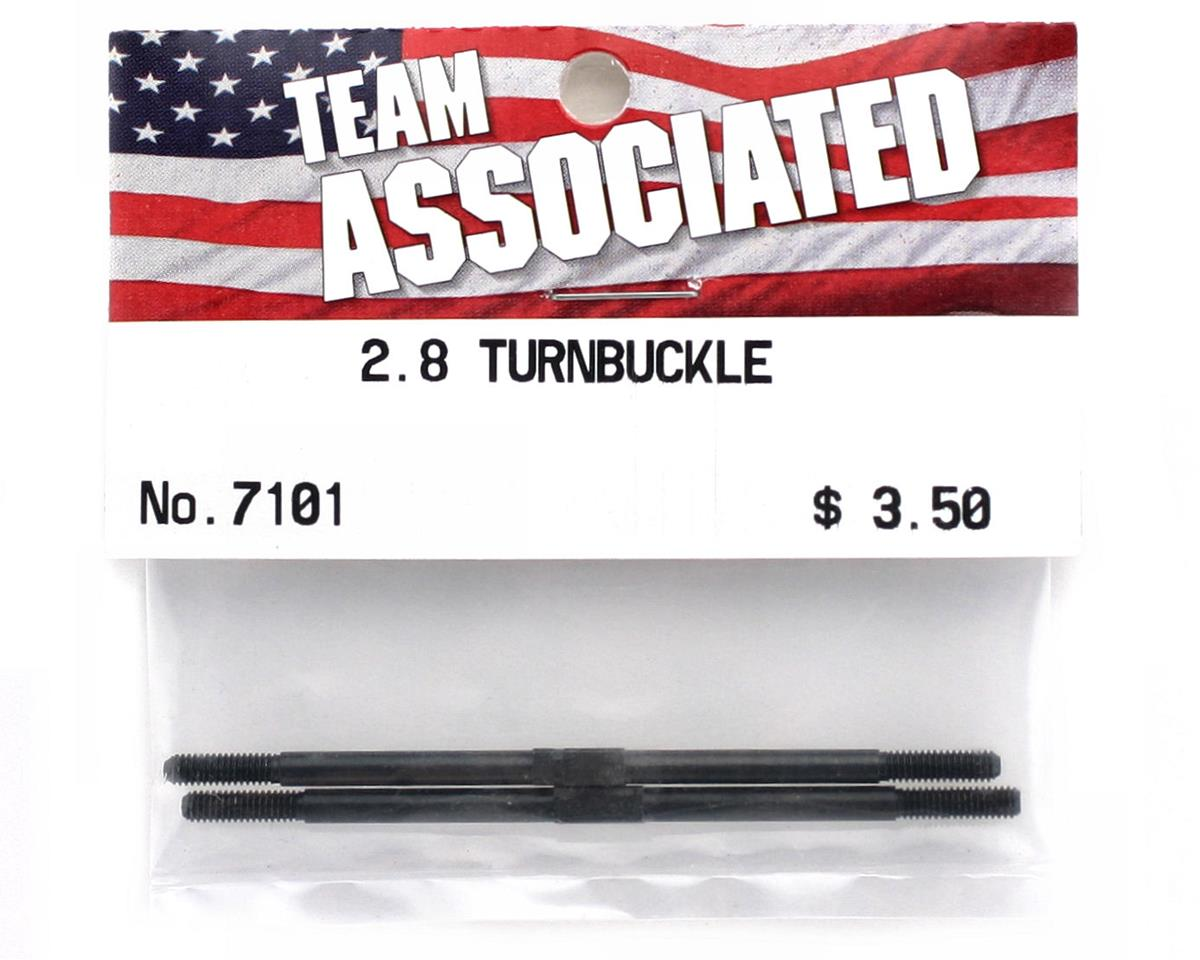 "Team Associated 2.8"" Turnbuckle (2)"