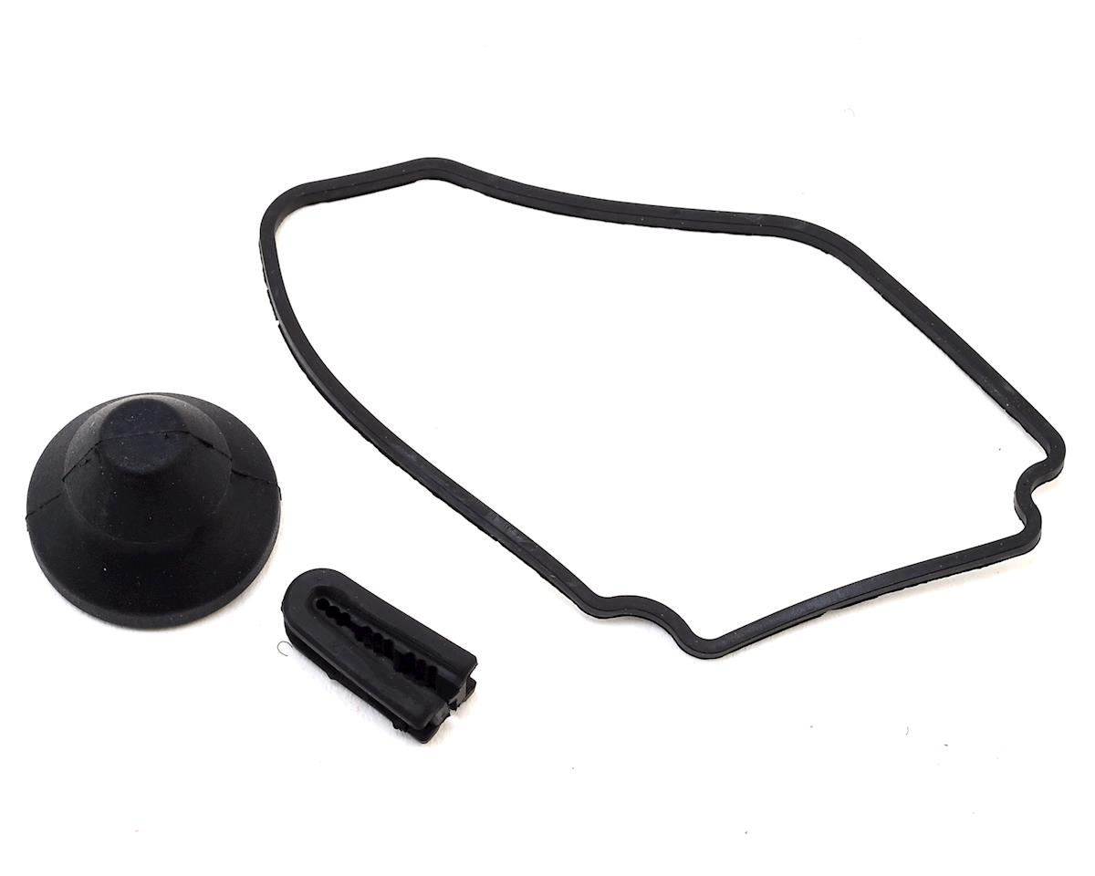 Team Associated Receiver Box Seal & Belt Cover Cap Set
