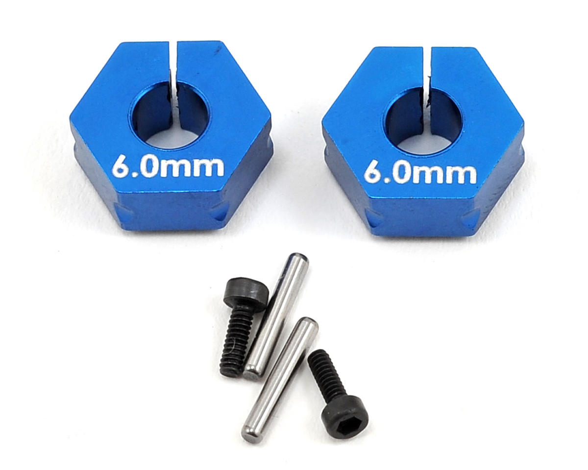 Team Associated 6.0mm Factory Team Clamping Wheel Hex (2)