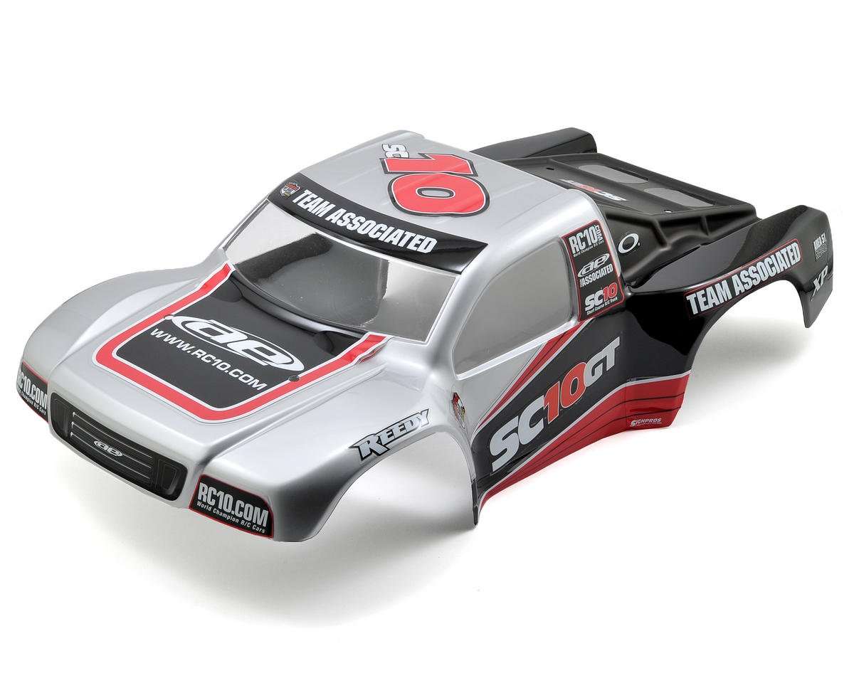 Team Associated SC10GT RTR Body (Silver)