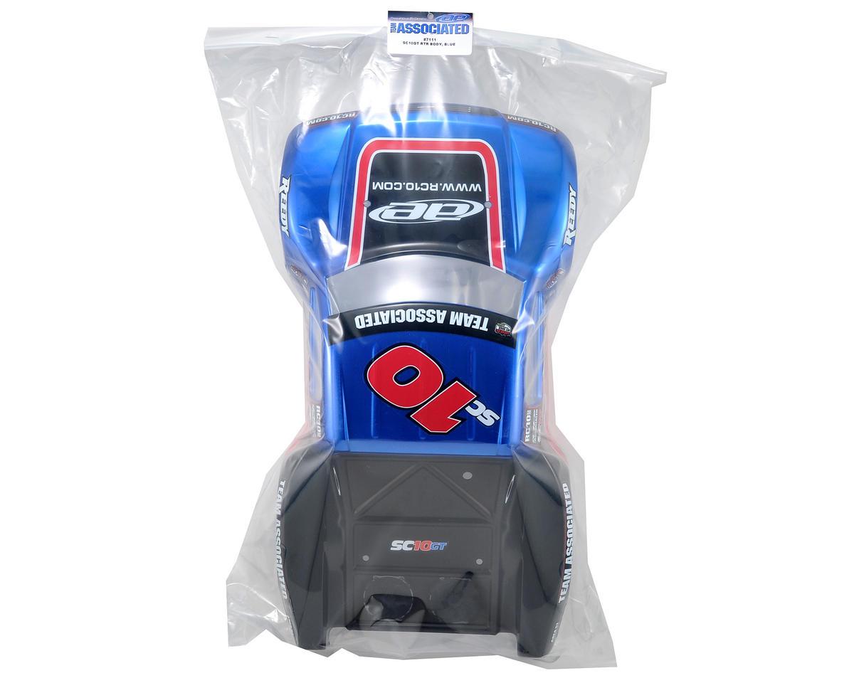 Team Associated SC10GT RTR Body (Blue)