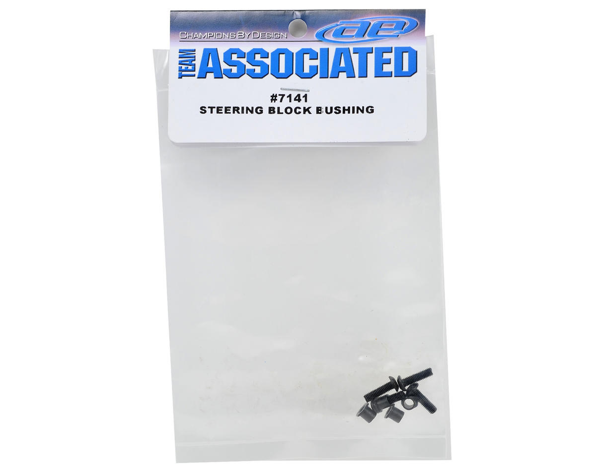 Team Associated Steering Block Bushing Set