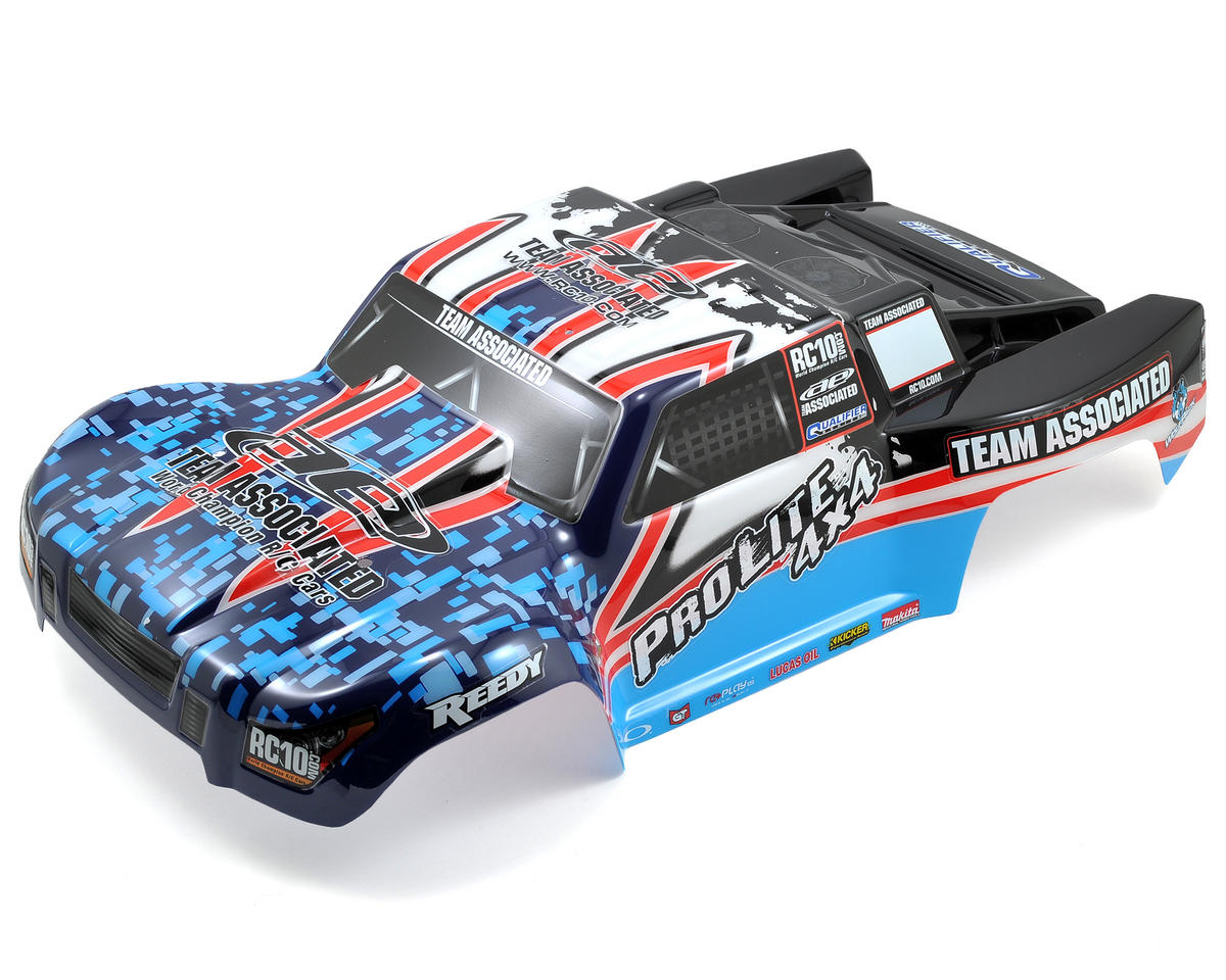 Team Associated ProLite Painted Body (Blue)