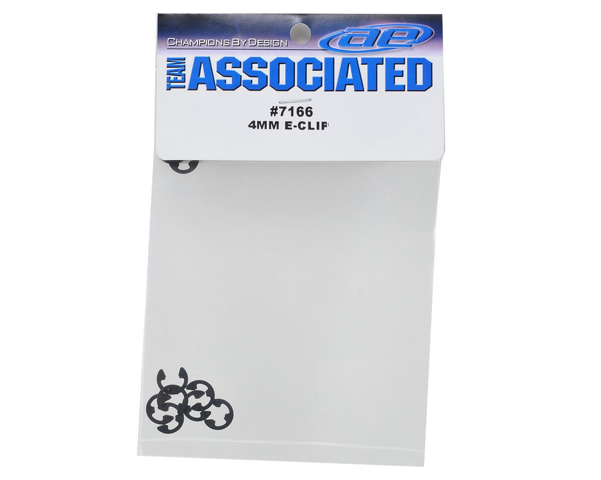 Team Associated 4mm E-Clip (10)