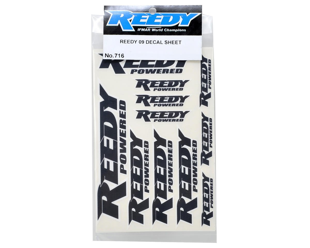 Reedy Factory Sticker Set (2)
