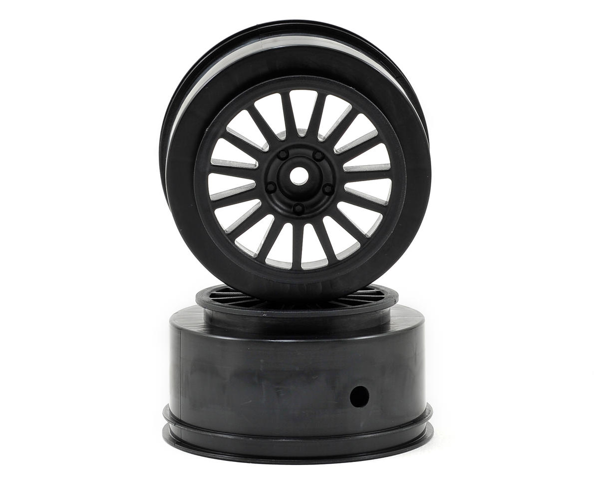 Rally Wheel (Black) by Team Associated