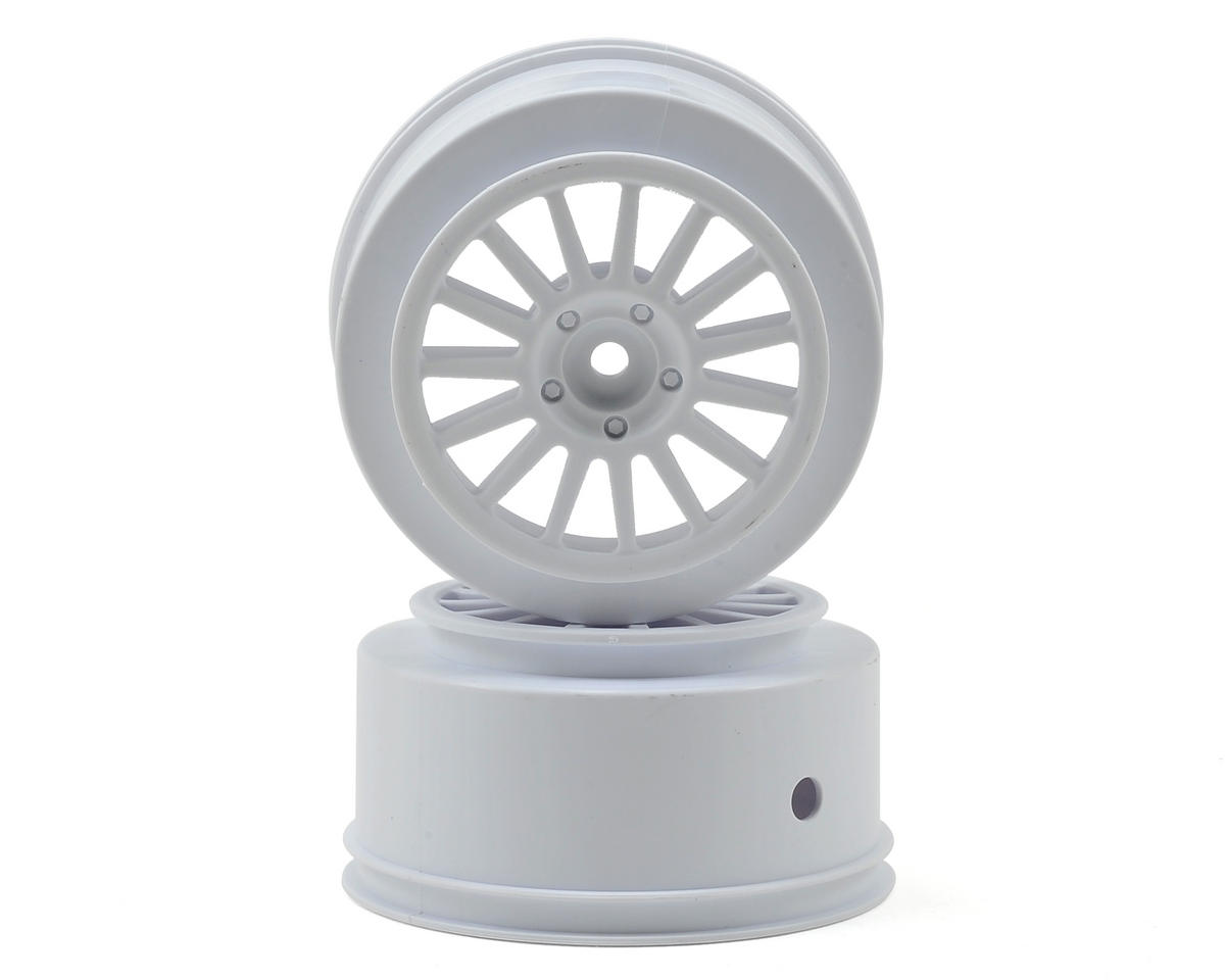 Team Associated Rally Wheel (White)