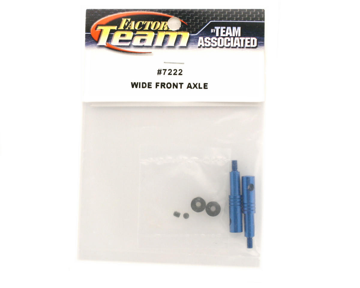 Team Associated Wide Front Axles GT (2)