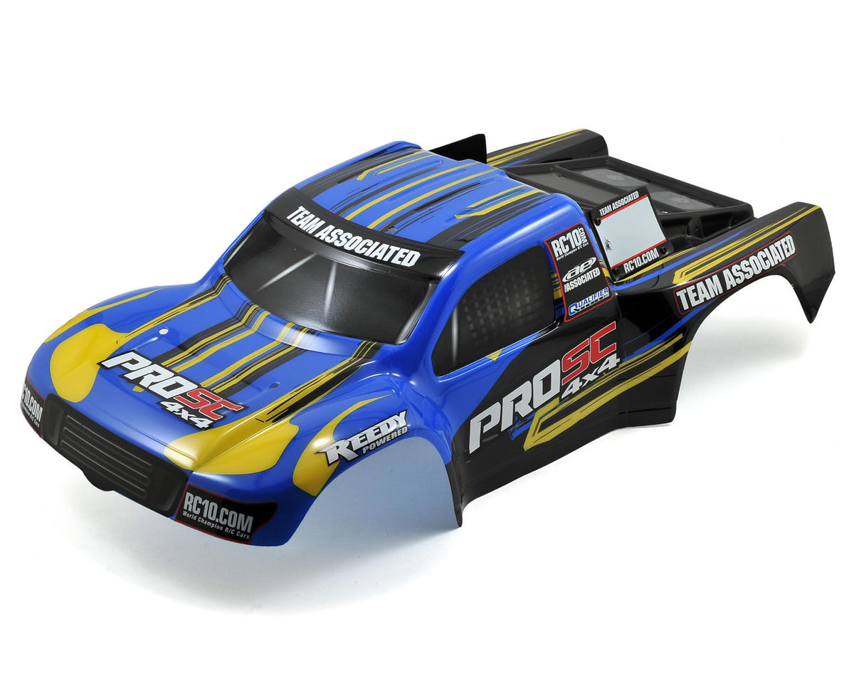 Painted Body (Blue/Yellow) by Team Associated