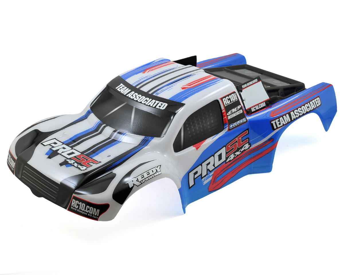 Team Associated Painted Body (White/Blue)
