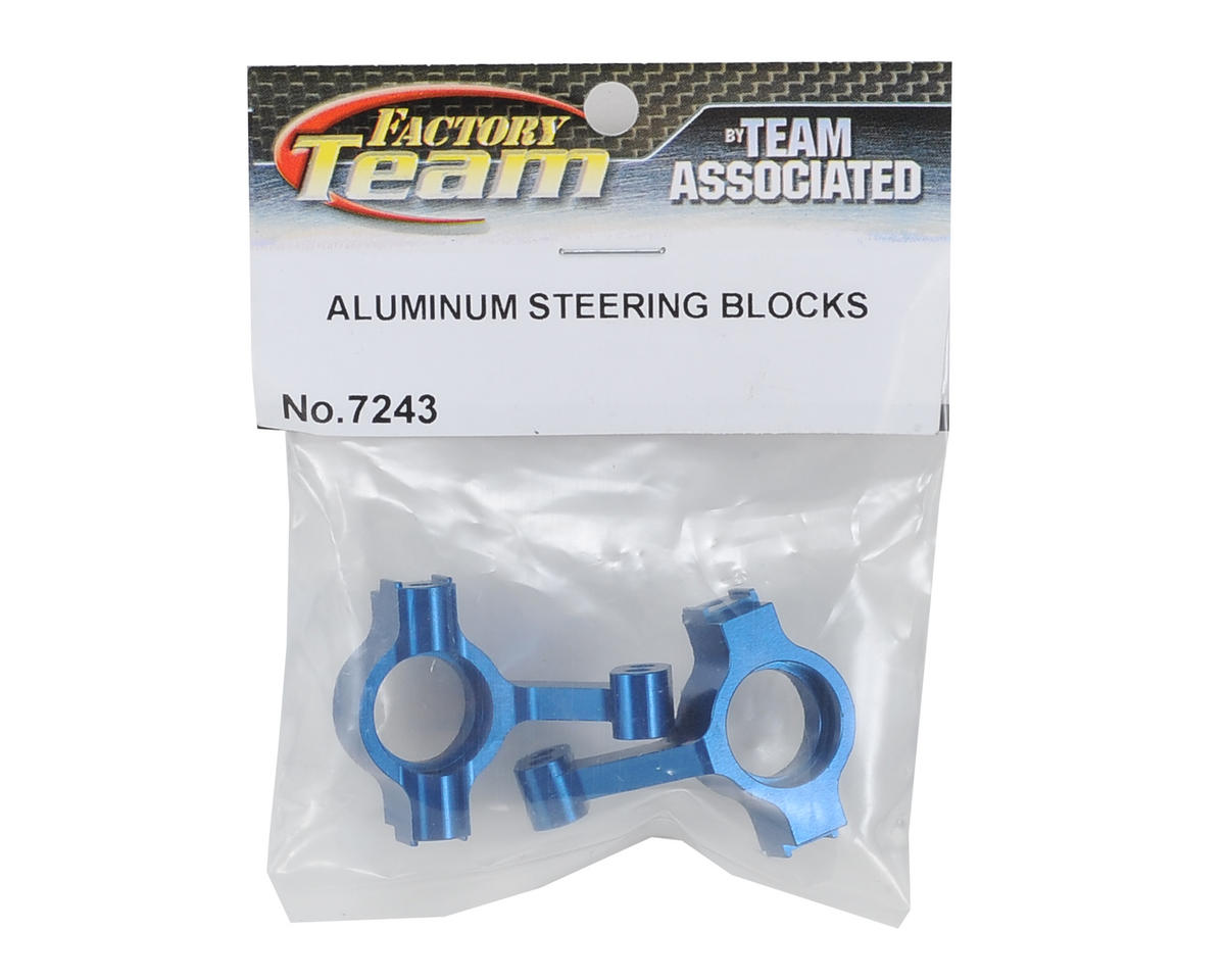 Factory Team Aluminum Steering Blocks by Team Associated