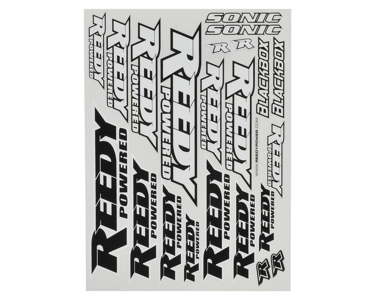 Reedy 2016 Sticker Sheet (Team Associated RC12 R6)