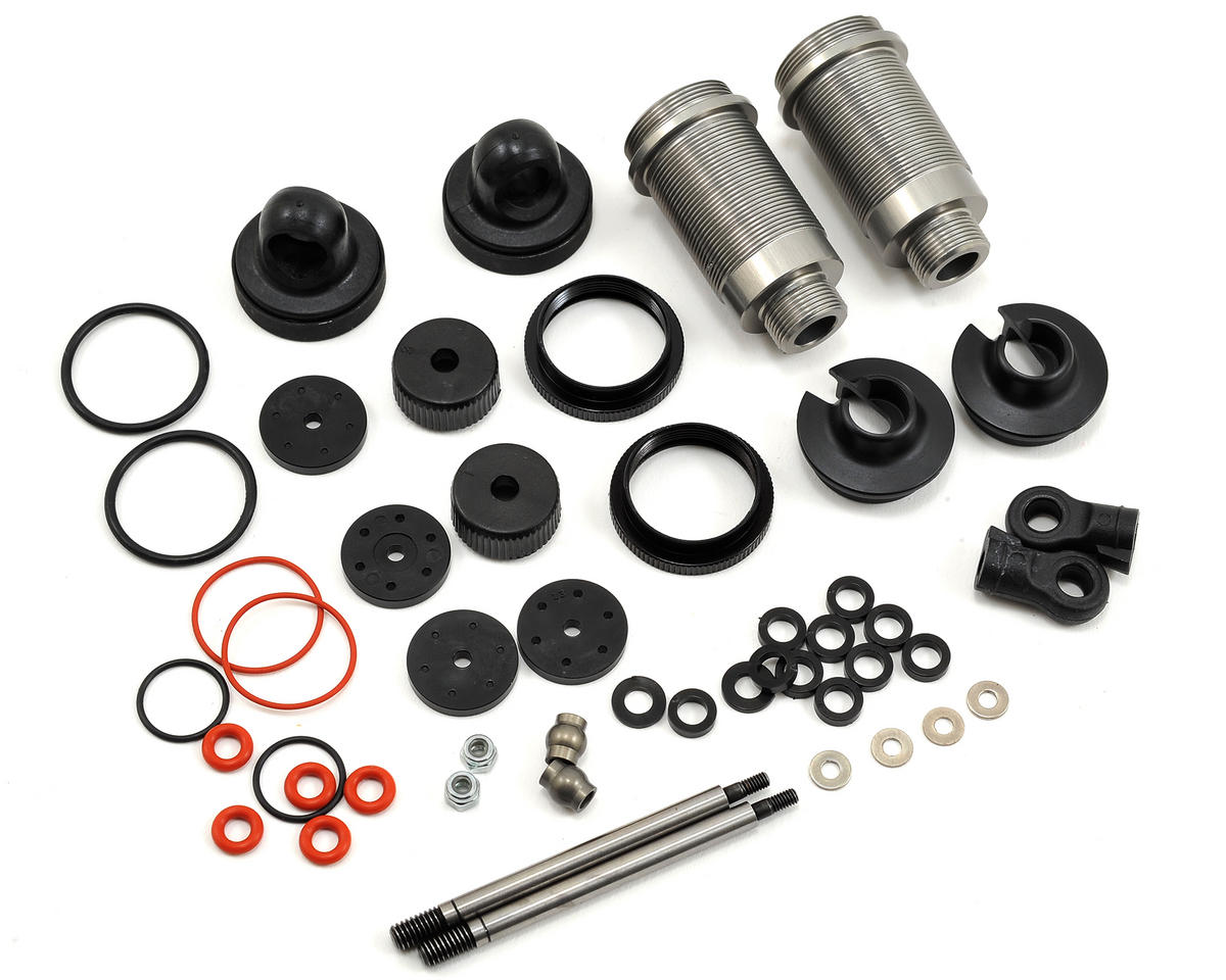 Team Associated Factory Team 16x25mm Aluminum Threaded Shock Kit (2)
