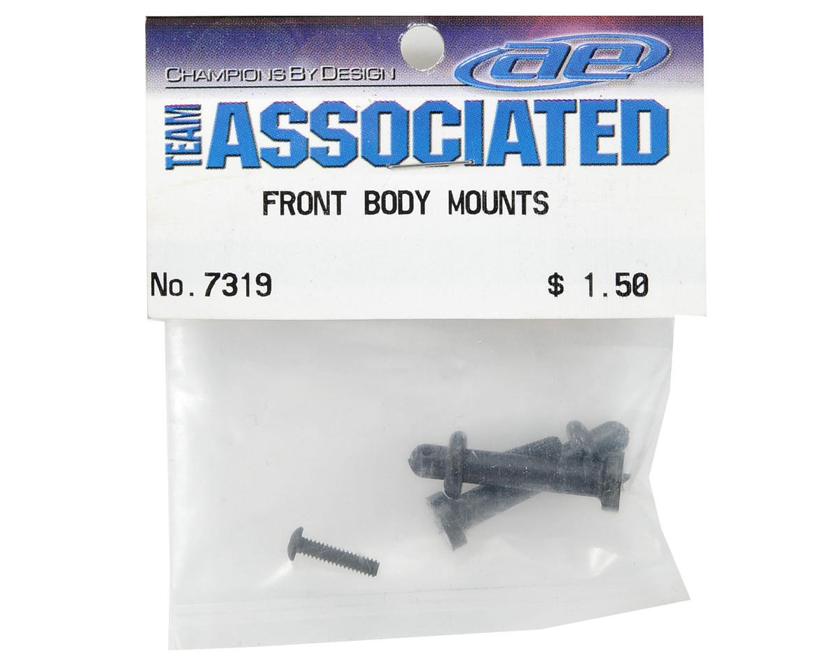 Team Associated Front Body Mount Set (RC10T/GT)