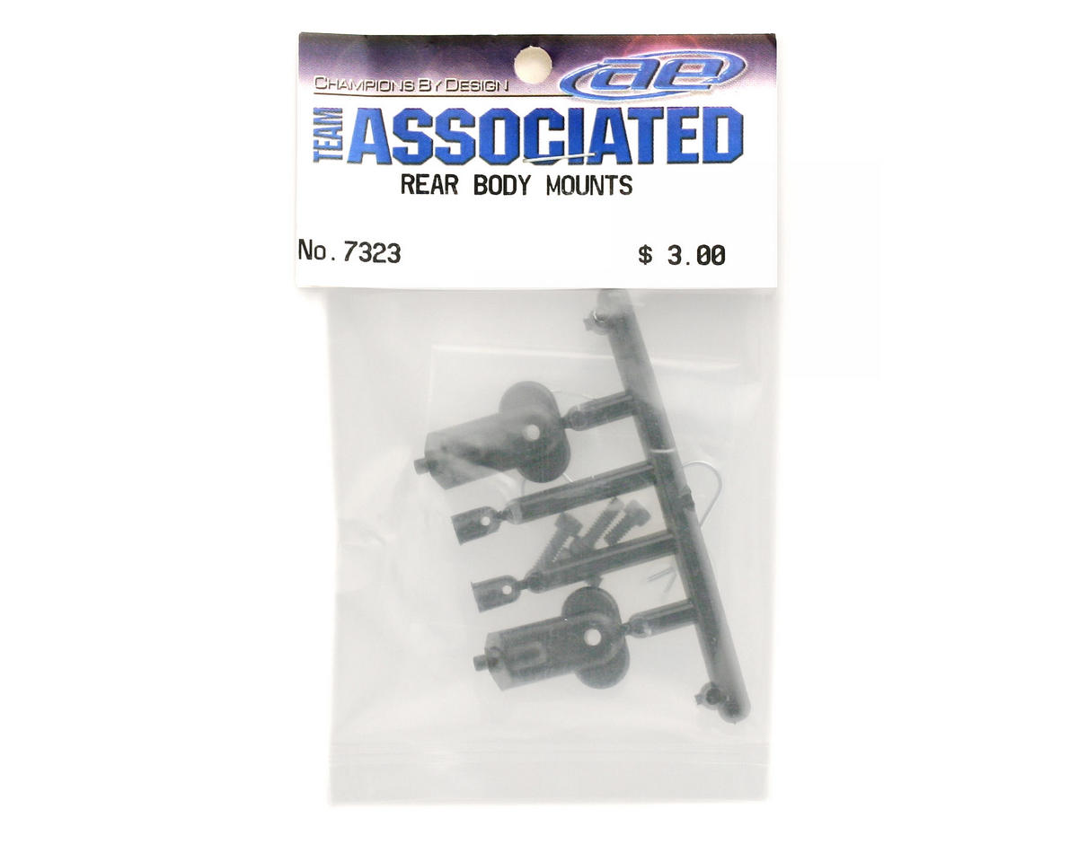 Image 2 for Team Associated Rear Body Mounts w/Screws Truck GT
