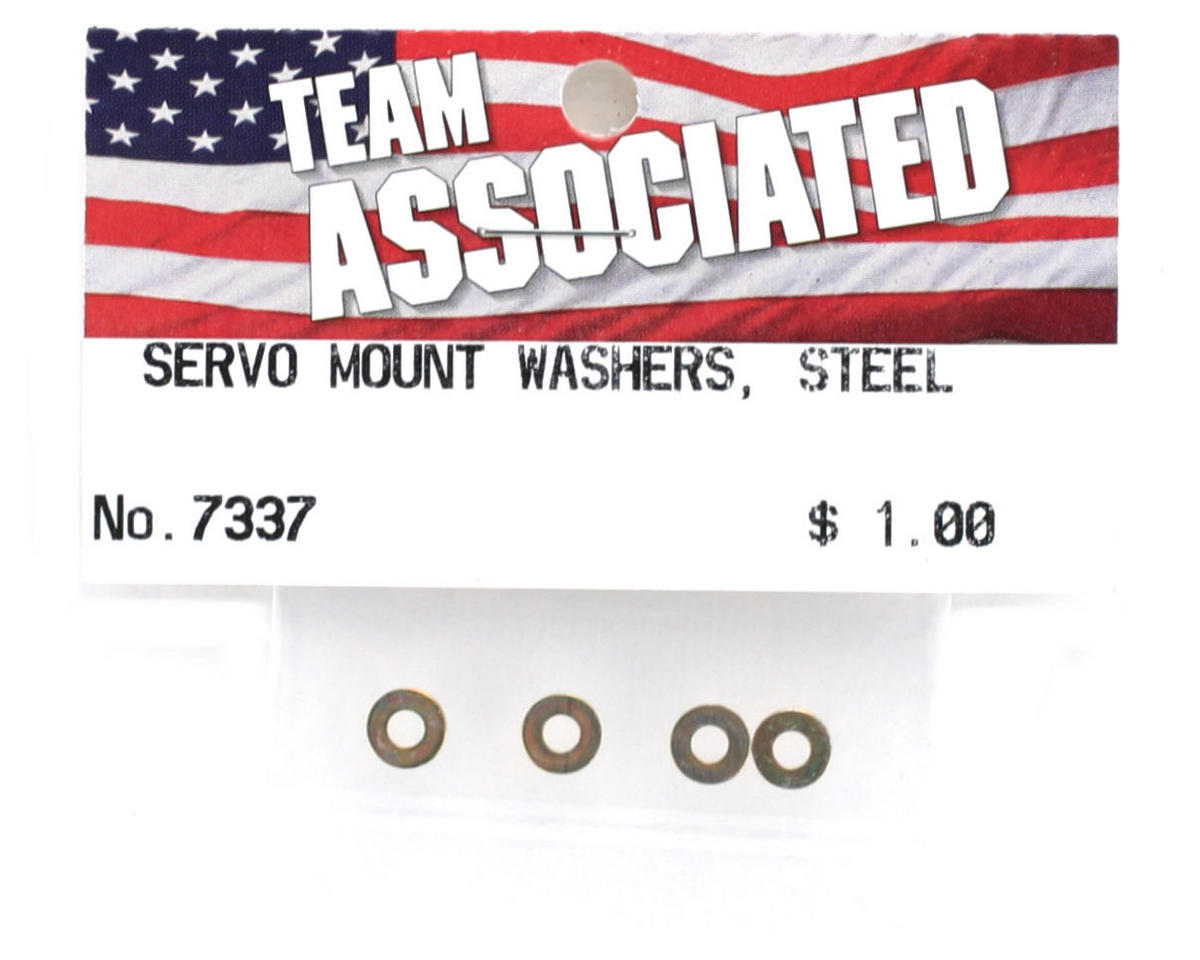 Team Associated Steel #4 Washer (4)