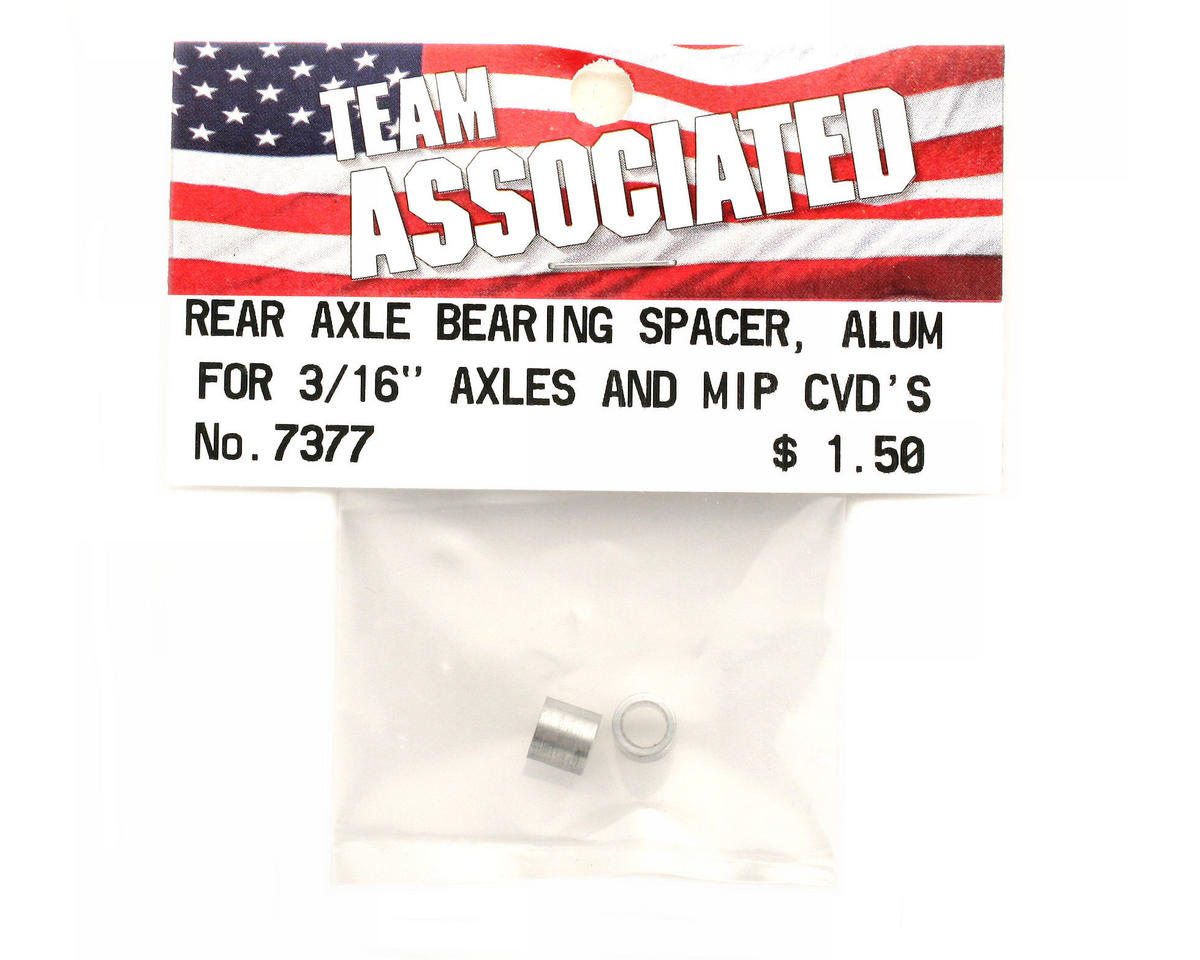Team Associated Rear Axle Bearing Spacer T4/B4/GT (2)
