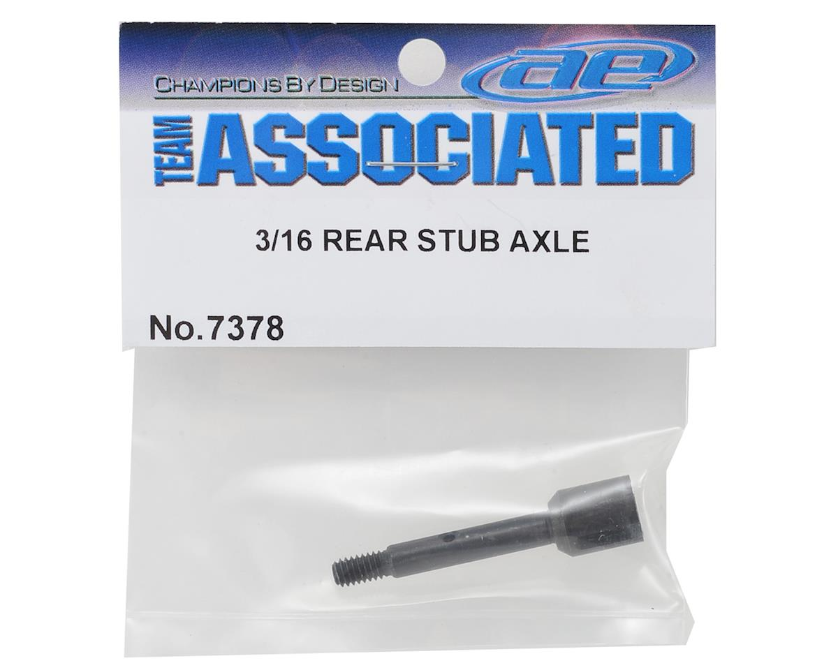 "3/16"" Rear Stub Axle by Team Associated"