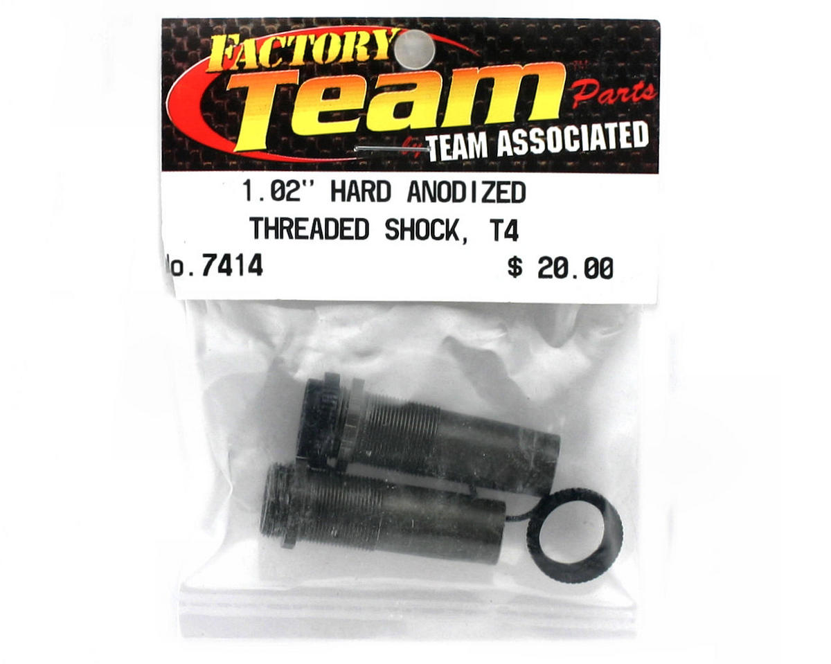 Team Associated Front Threaded Shock Body, 1.02 (2)
