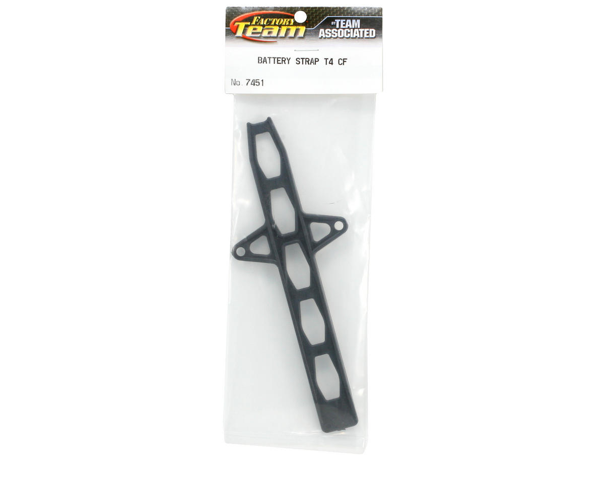 Team Associated Carbon Battery Strap (T4)