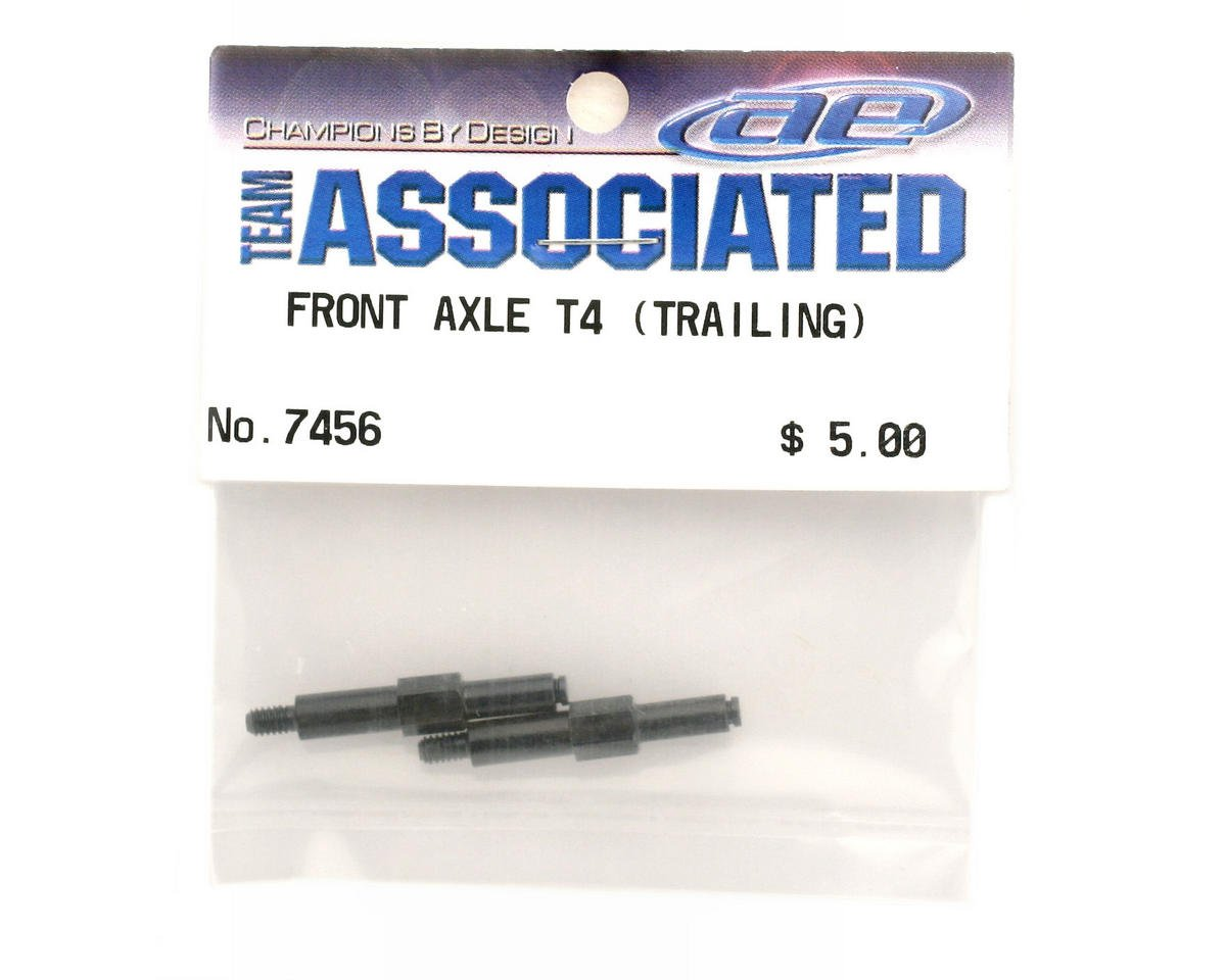 Front Axle Trailing T4 (2) by Team Associated