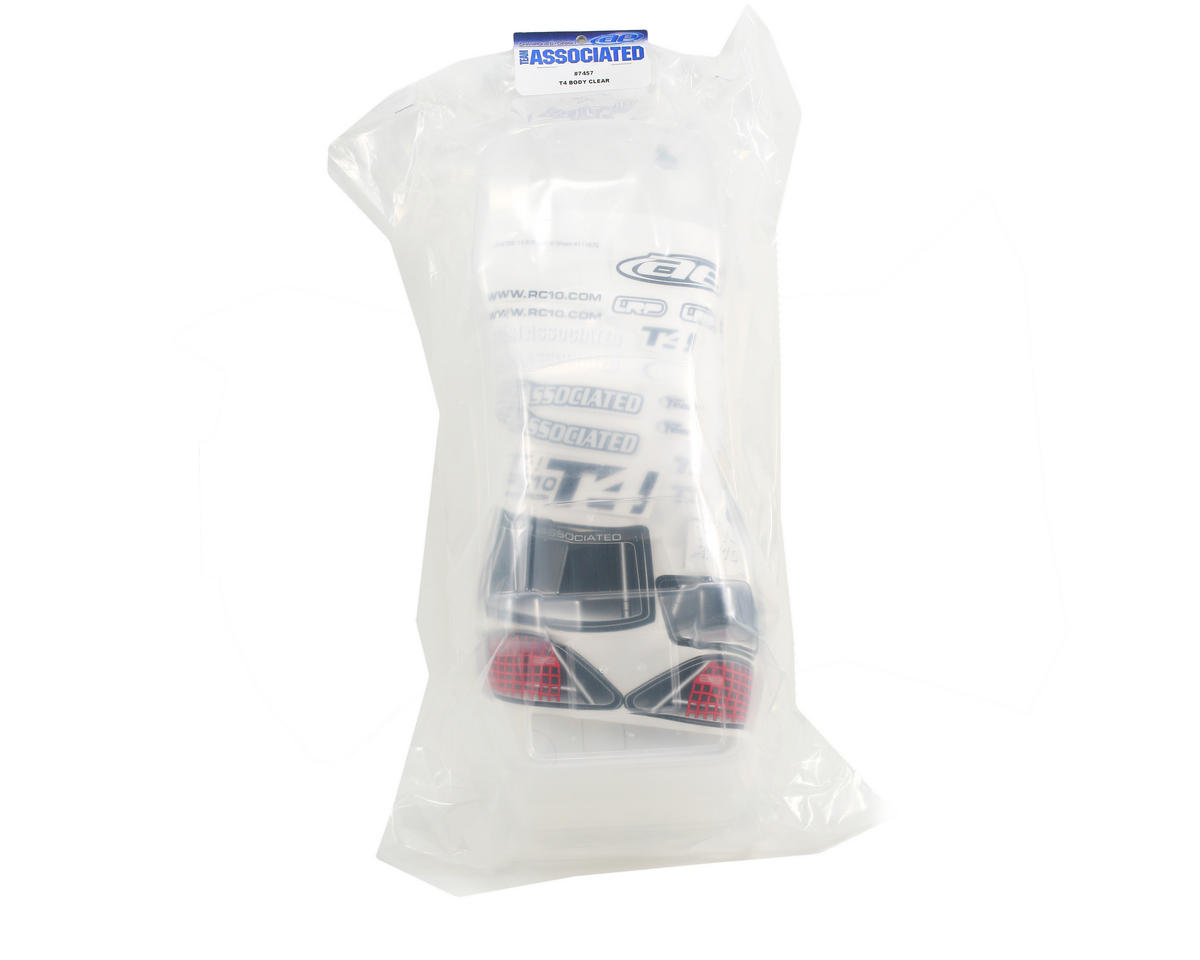 Team Associated T4 Interceptor Body (Clear)