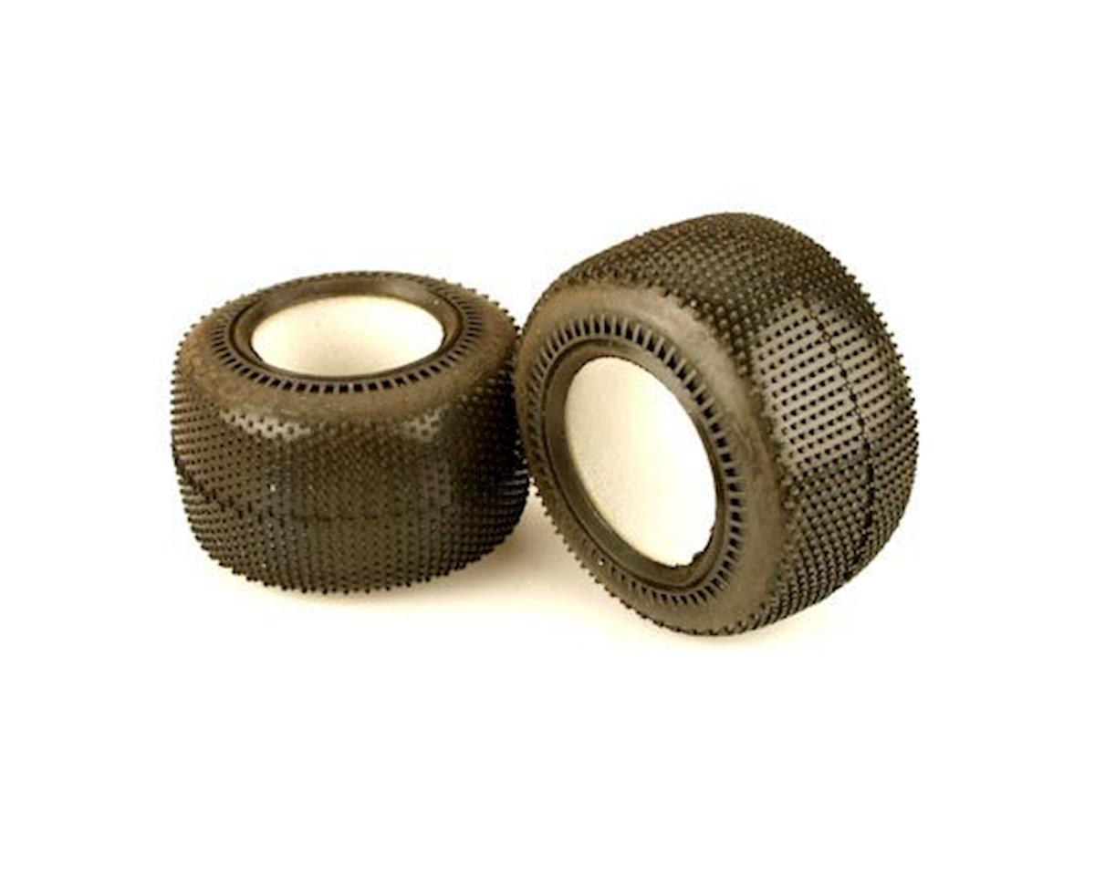 Rear Holeshot Tires M3 w/Inserts (2) by Team Associated