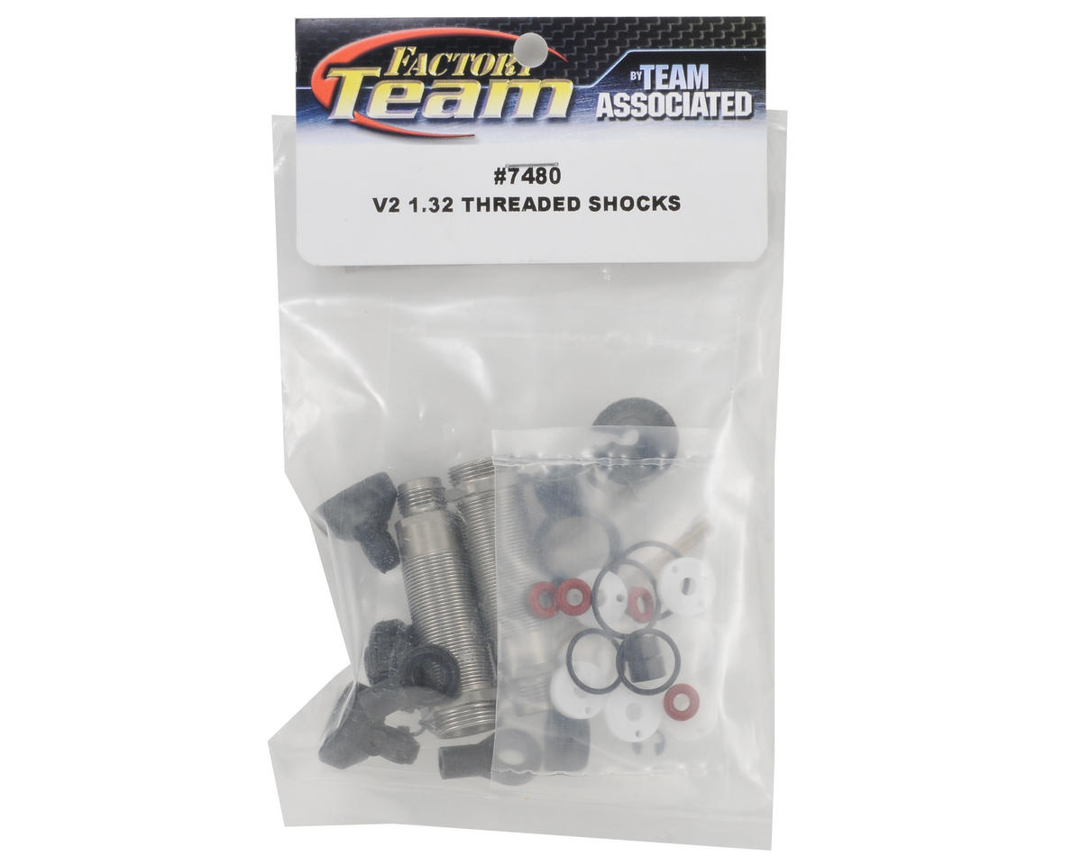 "Team Associated Factory Team ""V2"" 1.32"" Threaded Rear Shock Kit"
